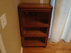 Macey oak stacking bookcase. | Globe Wernicke Bookcases | Pinterest
