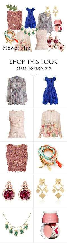 """Flower Hip"" by loeitt on Polyvore featuring Zimmermann, Dolce&Gabbana, Elie Tahari, Lace & Beads, True Craft, Thomas Sabo, Askew London and Clarins"