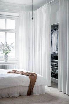 16 ideas minimalist bedroom closet storage for 2019 - Modern Trendy Bedroom, Modern Bedroom, Master Bedroom, Master Suite, Room Decor Bedroom, Bedroom Furniture, Bed Room, Furniture Ideas, Furniture Design