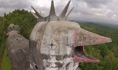 Gereja Ayam | Chicken Church | Borbudor | Indonesia