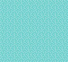 Christmas Dots - Turquoise  fabric by papersparrow on Spoonflower - custom fabric