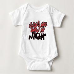 Ninja's Are Born At Night Shirt