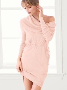 A Kiss of Cashmere The Multi-way Dress .... looks do comfy I'd wear this around the house