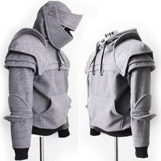 Duncan Armored Knight Hoodie - This awesome hoodie can be found at I Am Knight on Etsy!