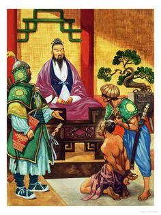 Historical Warrior Illustration Series - Confucius