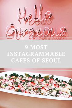 9 Most Instagrammable Cafes of Seoul to get your social media feed going. Featuring some of the most beautiful spots you need to check out! Seoul, You Got This, How To Get, Social Media, Check, Inspiration, Beautiful, Cafes, Biblical Inspiration