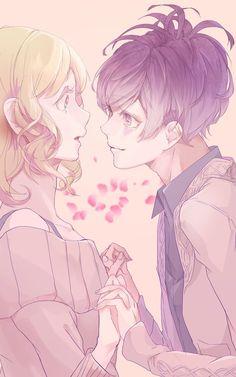 Diabolik Lovers (More Blood)- Yui x Kanato #Anime #Game #Otome