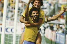 Socrates and Zico #futbol #futebol #soccer #socrates #zico #brazil