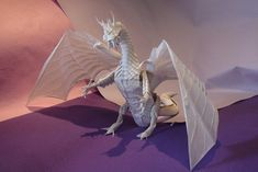 Some spectacular origami dragons, this time they're the traditional Western style.  Which one is your favourite?