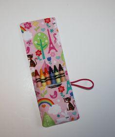 Crayon Rolls Party Favors Unicorns, Reinbows, Eiffel Towers, Birthday Valentine