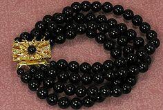 Vintage Czech Bracelet by avintagejewel on Etsy, $34.00