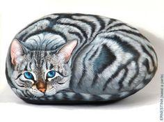 Красивая роспись камней от Ernestina Gallina