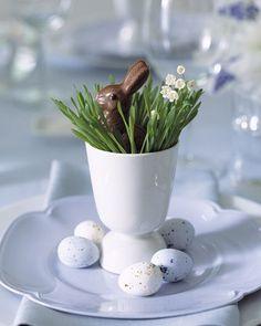Chocolates na decoração da Páscoa | Eu Decoro