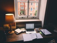 tanya's studyblr — days-of-reading:  Studying in the library my...