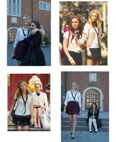 Check out these Gossip Girl inspired Halloween costumes!