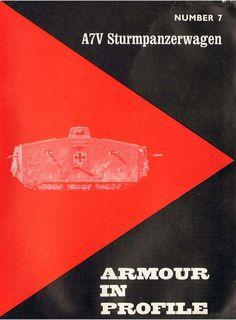 A7V Sturmpanzerwagen - Armour In Profile 007