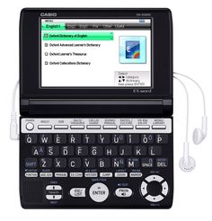 The Casio EW-B2000C Electronic Dictionary Contains 12 contents of Oxford Dictionaries.