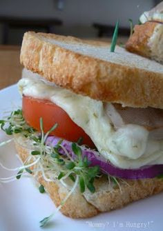 Tofu and Veggie Melt Sandwich