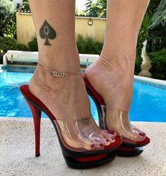 Unique API key is not valid for this user. heels how to walk in heels legs heels legs Sexy Legs And Heels, Hot High Heels, Stripper Heels, Beautiful High Heels, Clear Heels, Sexy Toes, Bare Foot Sandals, Stiletto Heels, Spade Tattoo