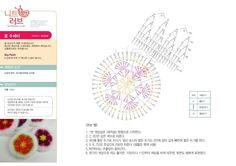 이미지 보기 : 네이버 카페 Creative Bubble, Crochet Pincushion, Crochet Scrubbies, Knitting Patterns, Crochet Patterns, Thing 1, Crochet Granny, Felt Flowers, Pin Cushions