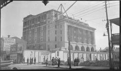 304414PD: Demolition of Central Arcade to create Forrest Place, Perth, 1922 https://encore.slwa.wa.gov.au/iii/encore/record/C__Rb3348247
