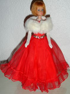 American Girl Barbie Doll (1965-1966) Junior Prom
