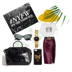 """🍀"" by minaoguz on Polyvore featuring moda, AlexaChung, Brandon Maxwell, REINHARD PLANK, Gucci, Minnie Grace, Tory Burch ve Givenchy"