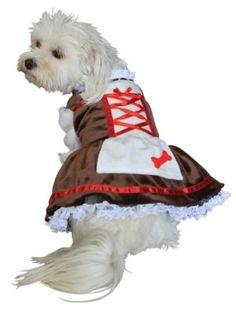 Beer Girl Pet Costume