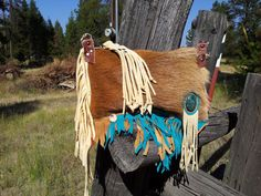 Fringed Leather Hair On Hipster  Hippy Bag by WhiteBuffaloCreation, $85.00