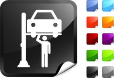 car mechanic internet royalty free vector art vector art illustration