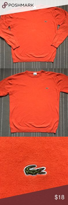 Lacoste Sweater Good condition, small snag in the sleeve as depicted Lacoste Sweaters Crewneck