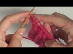 Punto Ojito de Perdiz (Ochitos Calados) - YouTube Knitting, Youtube, Recipes, Knitting Tutorials, Crochet Stitches, Partridge, Tricot, Breien, Stricken