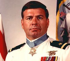 Navy SEAL Medal of Honor Recipient Mike Thornton~ SEAL Thomas Norris (MOH recipient) was shot in the face and believed dead. Thornton ran into a hail of enemy fire to retrieve Norris' body, and found him badly wounded and unconscious, but alive. He dragged Norris to the beach, inflated his life vest, and swam both Norris and a wounded South Vietnamese commando seaward for two hours before they were rescued.