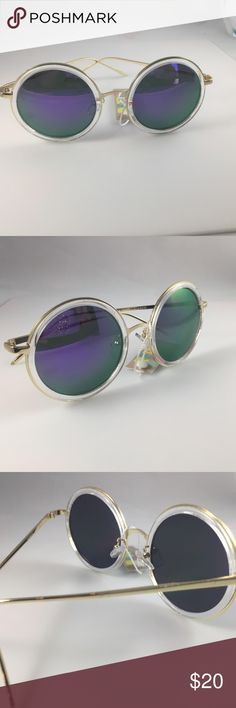 9e24cc75a0b3 Shop Women s Purple size OS Sunglasses at a discounted price at Poshmark.