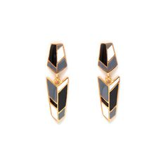 Orion Earrings Gold now featured on Fab.