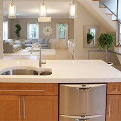 Kitchen Design Ideas, Pictures, Remodeling and Decor #DeltaFaucetInspired