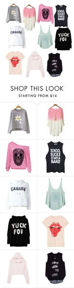 """Untitled #13"" by andici ❤ liked on Polyvore featuring Dsquared2, RVCA, MadeWorn, Melissa McCarthy Seven7 and plus size clothing"