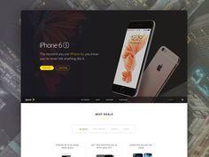 #MOJi Design# Sprint home page (by @human)