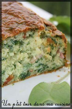 P'tit cake aux fanes de radis Plat Vegan, Cheers, Batch Cooking, Quiche, Sandwiches, Toast, Brunch, Pizza, Breakfast