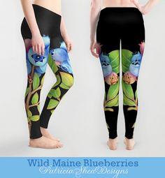 #patternpatisserie: Wild Maine Blueberry designs abound! A round up of my recent blueberry designs #PatriciaSheaDesigns