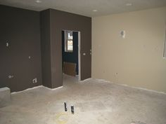 macadamia paint colorBefore  AftersOwners Transferred We Had The Run Of The House