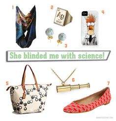 Science themed fashion