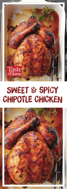 Sweet and Spicy Chipotle Chicken