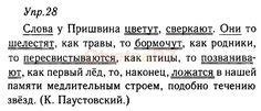 ГДЗ 28 - ответ на русский язык 9 класс Тростенцова