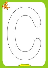 Free printable alphabet coloring pages. Alphabet coloring pages for preschool, kindergarten and elementary school children to print and co. Panda Coloring Pages, Nativity Coloring Pages, Free Coloring Sheets, Alphabet Coloring Pages, Coloring Pages To Print, Printable Coloring Pages, Coloring Pages For Kids, Alphabet Letter Templates, Printable Alphabet