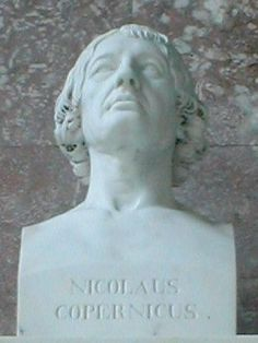 Bust by Schadow, 1807, Walhalla temple - This Day in History: Feb 19, 1473: Copernicus born http://dingeengoete.blogspot.com/