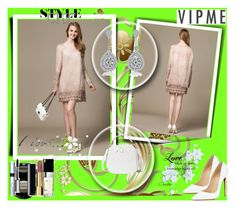 """""""Vipme  22"""" by zijadaahmetovic ❤ liked on Polyvore featuring Christian Louboutin, Giorgio Armani, Chanel, By Terry, women's clothing, women, female, woman, misses and juniors"""