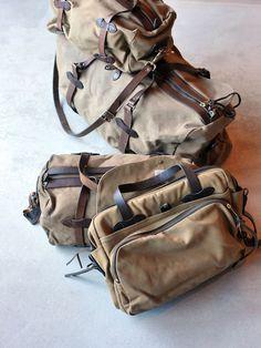 Filson Duffle Bag Large (Patina, Tan) (SOLD) - Bulang & Sons
