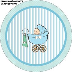 Chá de Bebê ou Chá de Fraldas para Menino - Kit Completo