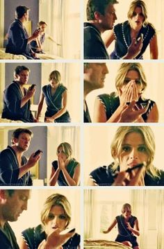 "Best moment of season 5. I still crack up. :D  ""I'm pretty sure he told me everything he knows"" - Ryan  ""Everything?!"" - (whispers) Beckett"